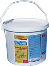 New Plast 2947 - Tricloro in Pastiglie da 200 g Polifunzionale per Acqua Piscina, Fustino 5 kg