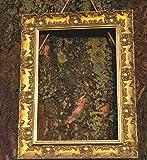 Breiter verschnoerkelter Ornament Shabby Chic Antik Swept Gold/Muse Bild/Foto/Poster Rahmen?mit einem MDF Rückwand?Bereit zum Aufhängen?mit eine hohe Klarheit Styrol Bruchsichere Plexiglas Blatt?woscas-gldmuse-parent - A3 - Gold/Muse