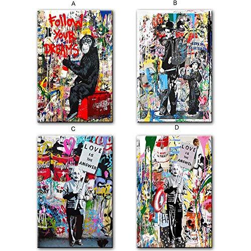 Mmzki Follow Your Dreams Street Wall Graffiti Art