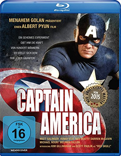Captain America - Remastered [Blu-ray] - Blu-ray-captain America
