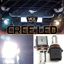 MCK Auto Duas Bombillas P13W LED Canbus Muy claras y fácil de intercambiar Luces de conducción diurna Bombillas LED Canbus xenón DRL P13W cree Mustang ea3r3