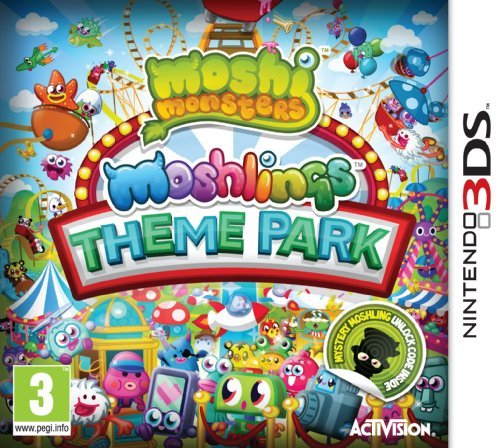 Moshi Monsters: Moshlings Theme Park (Nintendo 3DS) by ACTIVISION (Theme Park Inc)