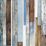 murando - PURO TAPETE - Realistische Tapete ohne Rapport und Versatz 10m Vlies Tapetenrolle Wandtapete modern design Fototapete - Bretter Holz f-C-0016-j-a