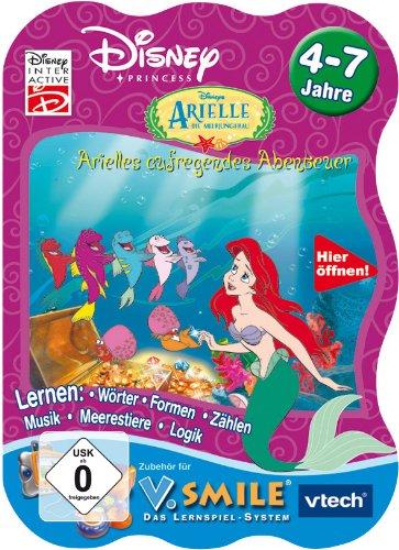 Preisvergleich Produktbild VTech 80-092124 - V.Smile Lernspiel Arielle