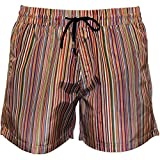 Shorts De Bain Paul Smith Multi Stripe Hommes, Multi