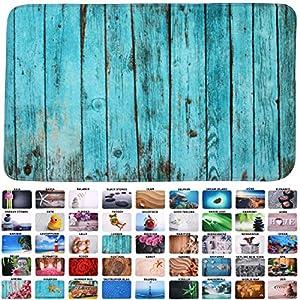 Sanilo Badteppich I viele schöne Badematten zur Auswahl I Badvorleger sehr weich und rutschfest I waschbar und schnelltrocknend (50 x 80 cm, Lumber)