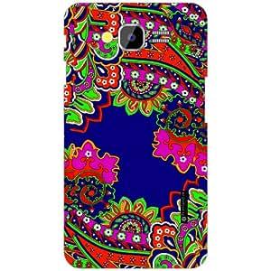 PrintlandPrintedHard Plastic Back Cover for Samsung Galaxy Grand 2 -Multicolor