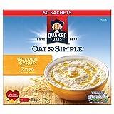 Quaker Oats Oat So Simple Golden Syrup Porridge (Pack of 50)