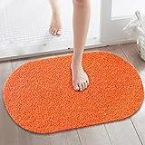 DXG&FX Tappetino di plastica Cucina WC Acqua-Antiscivolo materassino fonoassorbente tappetini da Bagno-A 39x70cm(15x28inch)