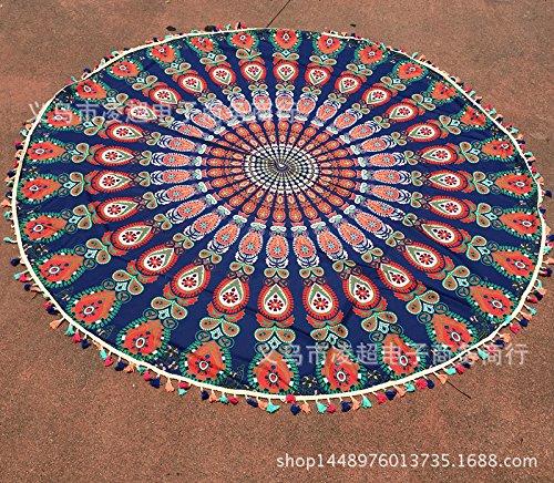YOUR LIFE Seidenschal Schal schal Handtuch für den Strand. Der Strom der ausländischen nationalen-Color Flow su Karte Seine 1 cm Polyester - Ausländische Karte