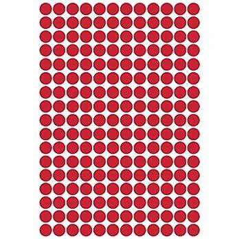 204 x Tupfenpunkt Aufkleber, jeweils 1.5cm breit. Kartenherstellung, Scrapbooking, Basteln, Fenster, Spiegel, Auto, Wanddekor