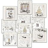 Hammond Gower Pubblicazioni AXP010cartolina di Natale (confezione da 10)