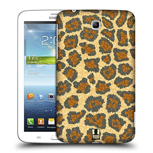 Head Case Designs Panda Animali Floreali Cover Morbida In Gel Per Apple iPhone 7 Plus / 8 Plus Leopardo