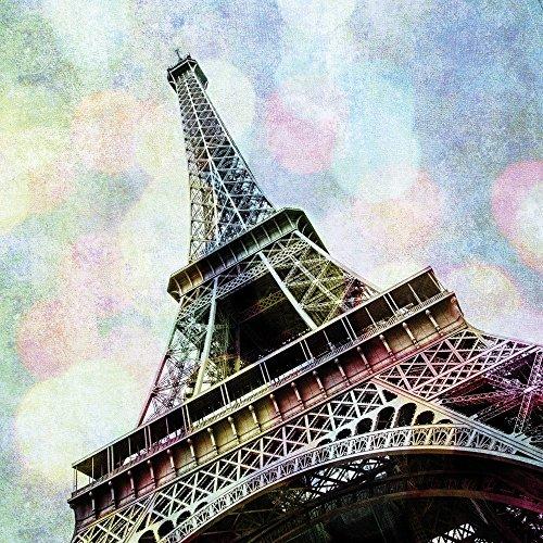 Apple iPhone 5s Housse étui coque protection Tour Eiffel Paris France Étui en cuir bleu marine