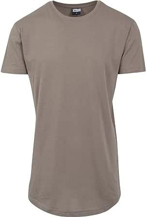 Urban Classics Shaped Long Tee Maglietta a Maniche Corte, T-Shirt Oversize in Cotone Jersey con Girocollo, Abbigliamento Casual Uomo