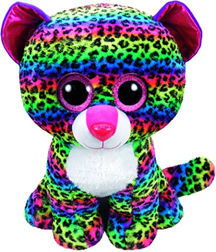 Beanie Boo Leopard - Dotty - Multicoloured - 42cm 16.5""