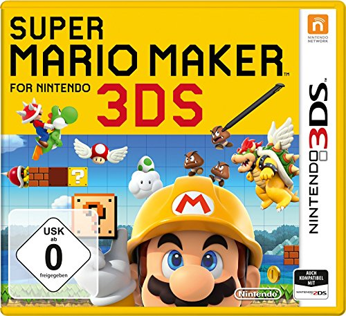Super Mario Maker for Nintendo 3DS (Nintendo Minecraft 3ds-spiel)