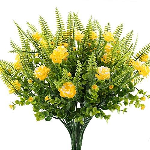 Samidy 4pcs Fake Plants Artifici...