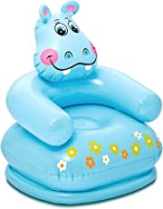 Zomaark Intex Inflatable Animal Air Chair For 3-8 Years Kids (Blue)