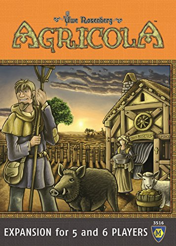 Mayfair Games MFG03516 - Brettspiel 'Agricola Expansion 5-6 Players'