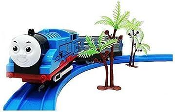 Rose International Pepperonz Jbp Xpreza Train Track Toy Set with Sound (Blue)