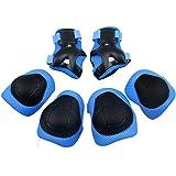 Protections de Skateboard , GIM Enfant Set de 6 Protections pour Skateboard / Roller Kneepads Genouillère, Coudière, protège paume protections de Cyclisme