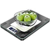 Balance cuisine, MomMed Balance de cuisine numérique avec une capacité maximale de 15 kg, affichage LED, haute…