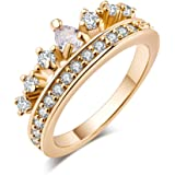 Exquisite Fashionable Crown Shaped Rings