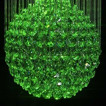 medium-drop fibre optique–Lustre Cristal–Grand