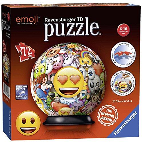 emoji puzzle Ravensburger 3D-Puzzle,Emoji-Motiv,72Teile