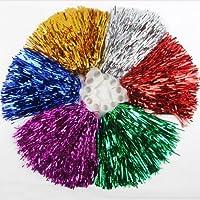 1 par agujeros ayozen pompones, Precio/2 piezas, 0,02 kg/pieza, 6 colores a elegir HOTPINK