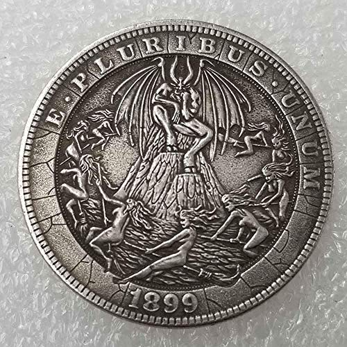 DDTing Best Morgan Silver Dollars - Hobo Nickel Münze - 1915 Münze zum Sammeln - Silber-Dollar USA Old Morgan Dollar GoodService -