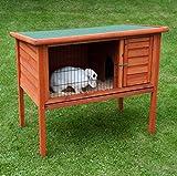 Classic Massivholz Stall–Ein ideales Zuhause für kleine Haustiere Living Outdoor–Kaninchen und mehr