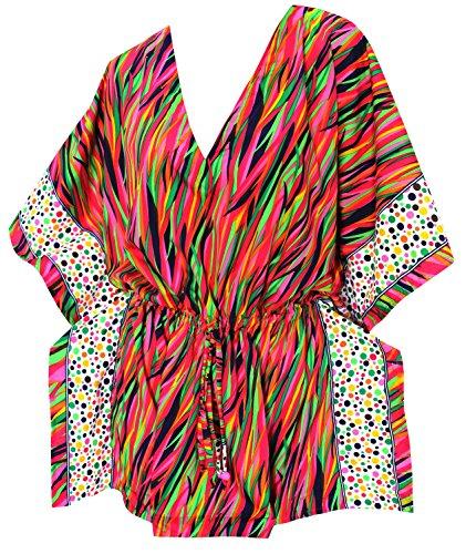 abito kimono coprire beachy tunica migliori signore caftano costume da bagno vestito costume da bagno d'epoca bikini retrò sciolto coprire fino donne vacanza camicia hawaiana estate