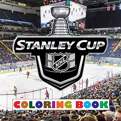 Stanley Cup Coloring Book: Super book containing every team logo from the NHL for you to color - Original birthday present / gift idea. por Johnnie Walker