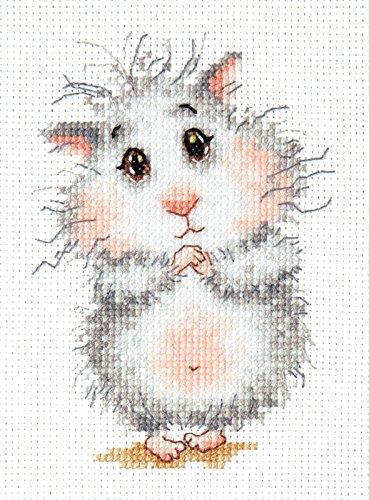 Kreuzstich Kit kaufen Hamster, Bitte.