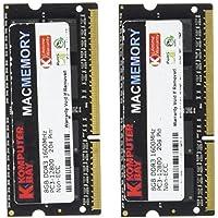 Komputerbay MACMEMORY 16GB (2x 8GB) PC3-12800 1600MHz SODIMM 204-Pin Laptop Memoria 10-10-10-27 per Apple Mac