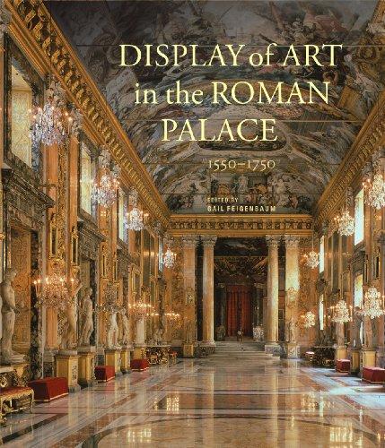 Display of Art in Roman Palace, 1550-1750