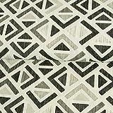 Stoffe Werning Dekostoff Geometrisches Muster Retro