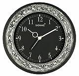 #8: Panna RD Black 251 Analog Wall Clock