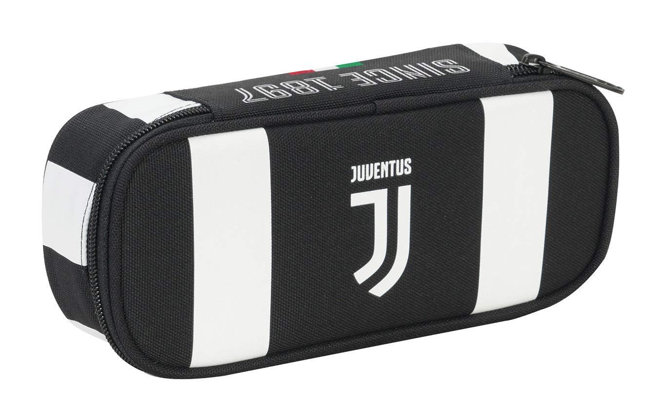 Seven Bust.Round Plus Juventus Coaches Estuches 23 Centimeters 0.5 Negro (Bianco e Nero)