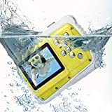 Best Digital Camera For Kids Waterproofs - PELLOR Waterproof Sport Action Camera Kids Camera Camcorder Review