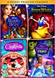 Cinderella/The Princess and the Frog/Beauty and the Beast/Snow White [DVD]