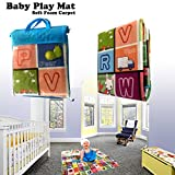 Enlarge toy image: NEW 200 X 180CM 2 SIDE KIDS CRAWLING EDUCATIONAL GAME BABY PLAY MAT SOFT FOAM CARPET- WATERPROOF AND HUMIDITY PROOF.