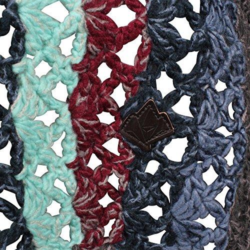 khujo Damen Strickjacke Laddy Chunky Cardingan Knit pause mix