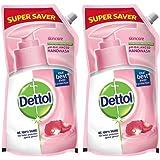 Dettol Skincare Germ Protection Handwash Liquid Soap Refill, 750ml (Pack of 2)