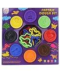 Ratna's Fantasy 8 in 1 Dough Clay, Multi Color