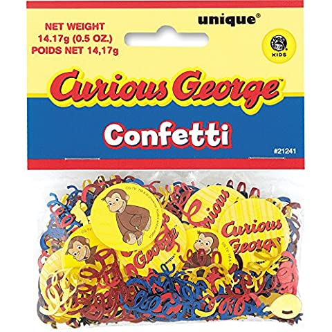 Curious George - Coriandoli