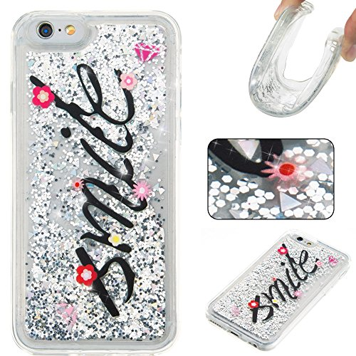 Nutbro iPhone 5C Case,iPhone 5C Liquid Case Fashion Creative Glitter Liquid with Slim Protection Soft TPU Bumper Moving Quicksand Case for iPhone 5C YB-iPhone-5C-286