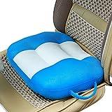 YQ WHJB Sitzerhöhung,Sitzkissen Für Auto,Reise Orthopädische Extra Dick Nut Universelle Sicherheit Portable Rückenschmerzen Kissen-Blau 40x45cm(16x18inch) 40x45cm(16x18inch)